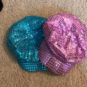 Other - Two Girls Sequin Hats